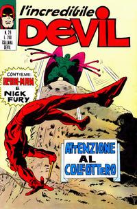 Cover Thumbnail for L'Incredibile Devil (Editoriale Corno, 1970 series) #29