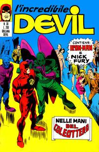 Cover Thumbnail for L'Incredibile Devil (Editoriale Corno, 1970 series) #30