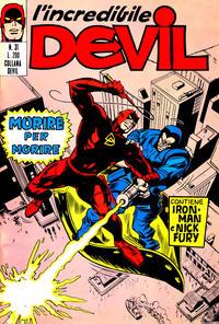 Cover Thumbnail for L' Incredibile Devil (Editoriale Corno, 1970 series) #31