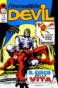 Cover Thumbnail for L'Incredibile Devil (Editoriale Corno, 1970 series) #32