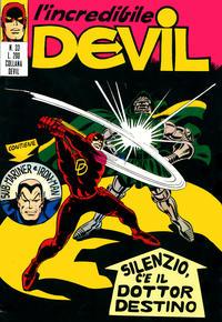 Cover Thumbnail for L' Incredibile Devil (Editoriale Corno, 1970 series) #33