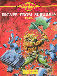 Cover Thumbnail for Stories of the Fantastic (NBM, 1987 series) #1 - Escape from Suburbia