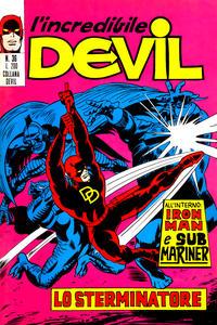 Cover Thumbnail for L'Incredibile Devil (Editoriale Corno, 1970 series) #36