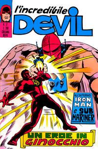 Cover Thumbnail for L' Incredibile Devil (Editoriale Corno, 1970 series) #37