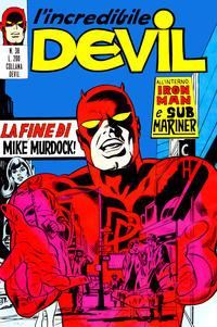 Cover Thumbnail for L' Incredibile Devil (Editoriale Corno, 1970 series) #38