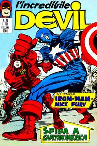 Cover Thumbnail for L'Incredibile Devil (Editoriale Corno, 1970 series) #40