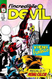 Cover Thumbnail for L' Incredibile Devil (Editoriale Corno, 1970 series) #44