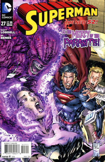 Cover for Superman (DC, 2011 series) #27
