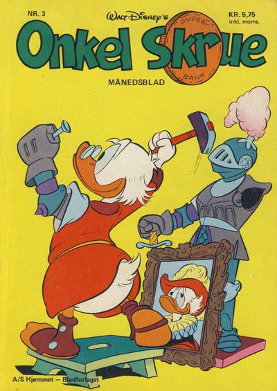 Cover for Onkel Skrue (Hjemmet / Egmont, 1976 series) #3