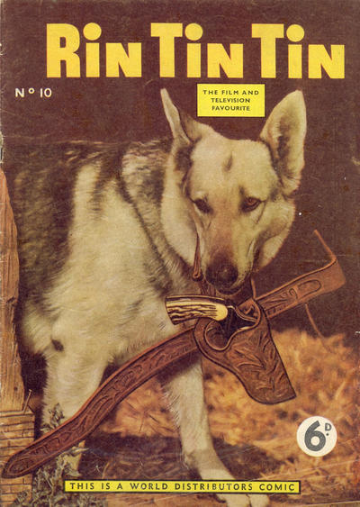 Cover for Rin Tin Tin (World Distributors, 1955 series) #10