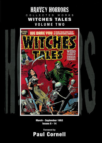 Cover for Harvey Horrors Collected Works: Witches Tales (PS, 2011 series) #2