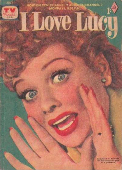 Cover for TV Parade (Magazine Management, 1957 series) #6
