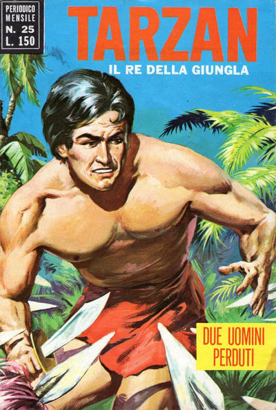Cover for Tarzan (Editrice Cenisio, 1968 series) #25