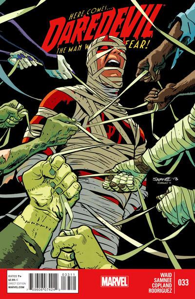 Cover for Daredevil (Marvel, 2011 series) #33