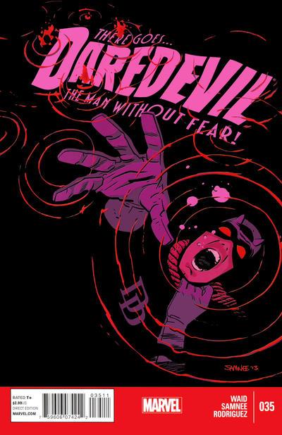 Cover for Daredevil (Marvel, 2011 series) #35