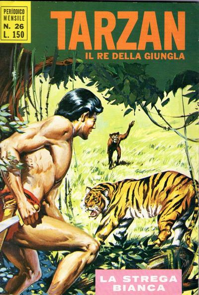 Cover for Tarzan (Editrice Cenisio, 1968 series) #26