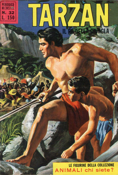 Cover for Tarzan (Editrice Cenisio, 1968 series) #32