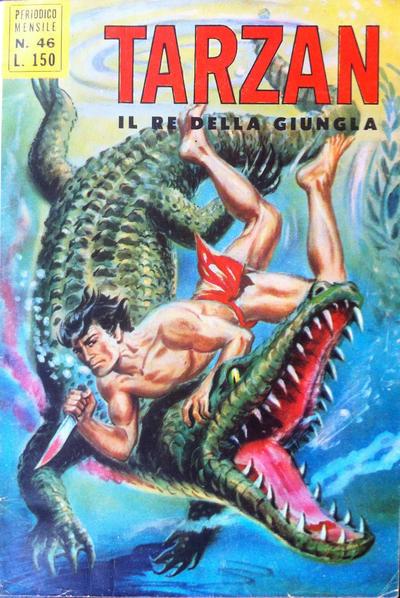 Cover for Tarzan (Editrice Cenisio, 1968 series) #46