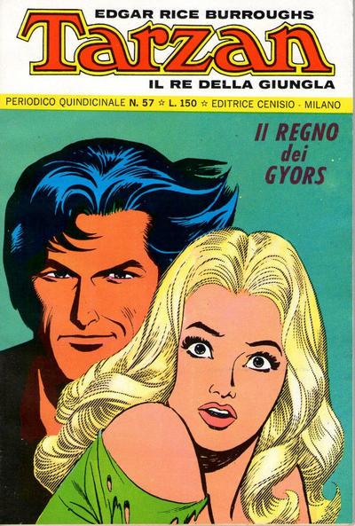 Cover for Tarzan (Editrice Cenisio, 1968 series) #57