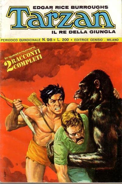 Cover for Tarzan (Editrice Cenisio, 1968 series) #98