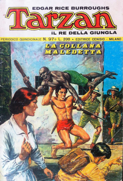 Cover for Tarzan (Editrice Cenisio, 1968 series) #97
