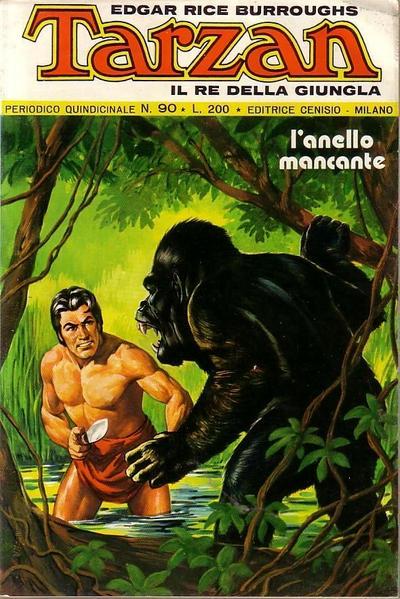 Cover for Tarzan (Editrice Cenisio, 1968 series) #90