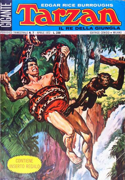 Cover for Tarzan Gigante (Editrice Cenisio, 1969 series) #7