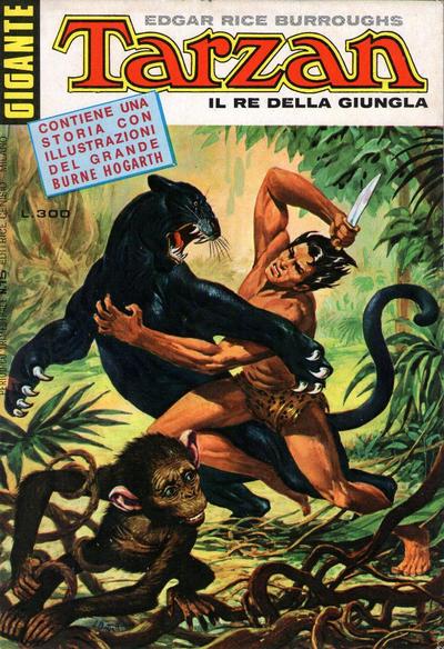 Cover for Tarzan Gigante (Editrice Cenisio, 1969 series) #15