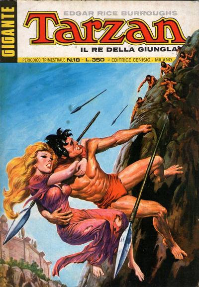 Cover for Tarzan Gigante (Editrice Cenisio, 1969 series) #18