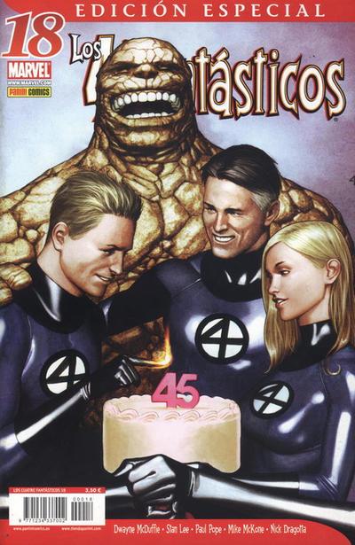 Cover for Los 4 Fantásticos (Panini España, 2006 series) #18