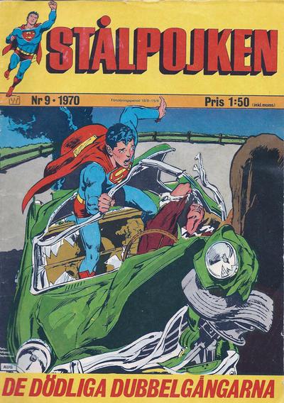 Cover for Stålpojken (Williams Förlags AB, 1969 series) #9/1970