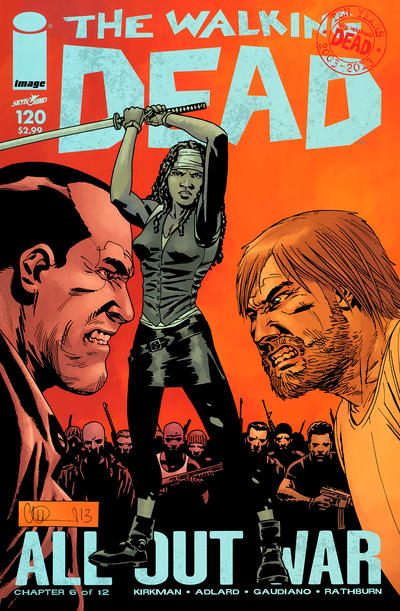 Cover for The Walking Dead (Image, 2003 series) #120