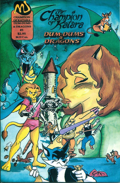 Cover for The Champion of Katara: Dum-Dums & Dragons (MU Press, 1995 series) #3