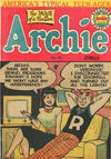 Cover for Archie Comics (H. John Edwards, 1950 ? series) #40
