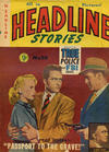Cover for Headline Stories (Atlas, 1954 series) #20