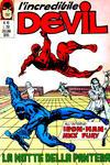 Cover for L' Incredibile Devil (Editoriale Corno, 1970 series) #49