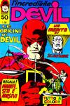 Cover for L'Incredibile Devil (Editoriale Corno, 1970 series) #50