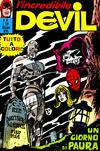 Cover for L'Incredibile Devil (Editoriale Corno, 1970 series) #51