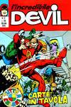 Cover for L'Incredibile Devil (Editoriale Corno, 1970 series) #57