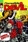 Cover for L'Incredibile Devil (Editoriale Corno, 1970 series) #63