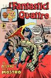 Cover for I Fantastici Quattro (Editoriale Corno, 1971 series) #122