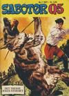 Cover for Sabotør Q5 (Serieforlaget / Se-Bladene / Stabenfeldt, 1971 series) #7/1977