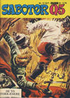 Cover for Sabotør Q5 (Serieforlaget / Se-Bladene / Stabenfeldt, 1971 series) #12/1977