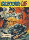 Cover for Sabotør Q5 (Serieforlaget / Se-Bladene / Stabenfeldt, 1971 series) #1/1978