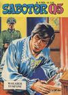 Cover for Sabotør Q5 (Serieforlaget / Se-Bladene / Stabenfeldt, 1971 series) #8/1978