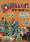 Cover for Superman Super Library (K. G. Murray, 1964 series) #4