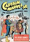 Cover for Captain Marvel Jr. (L. Miller & Son, 1950 series) #75