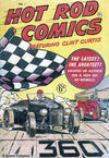 Cover for Hot Rod Comics (Arnold Book Company, 1951 ? series) #1