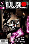 Cover Thumbnail for Bloodshot and H.A.R.D.Corps (2013 series) #14 [Cover B - Pullbox Edition - Emanuela Lupacchino]
