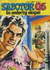 Cover for Sabotør Q5 (Serieforlaget / Se-Bladene / Stabenfeldt, 1971 series) #2/1980